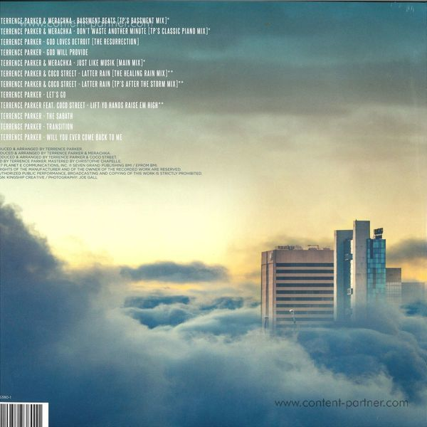 Terrence Parker - God Loves Detroit (2LP) (Back)
