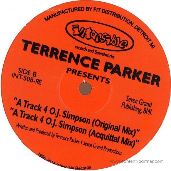 Terrence Parker - The Emancipation Of Soul (Back)
