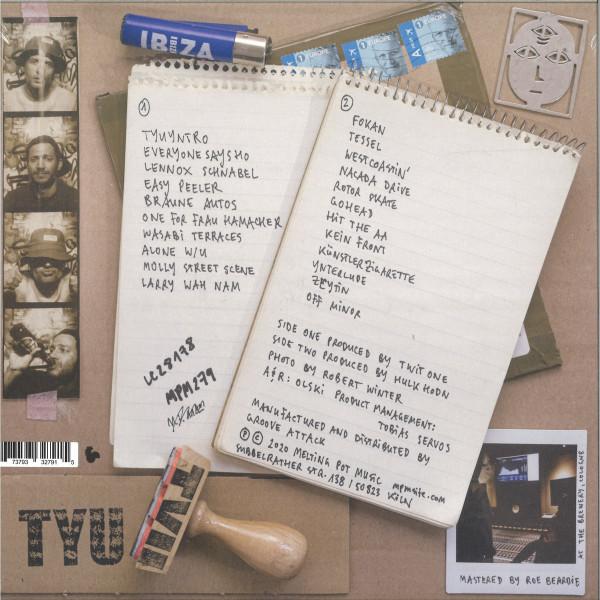 Testiculo Y Uno - TWO (LP) (Back)