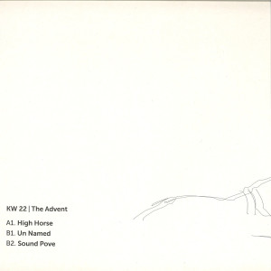 The Advent - High Horse C (Back)