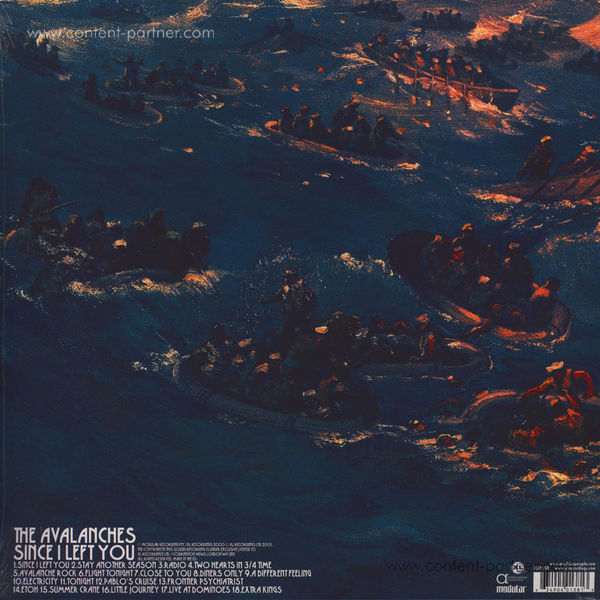 The Avalanches - Since I Left You (2LP, repress) (Back)