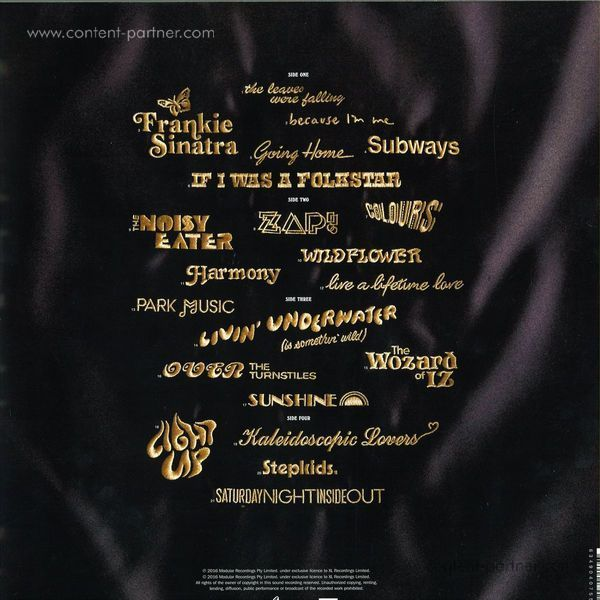 The Avalanches - Wildflower (2LP) (Back)