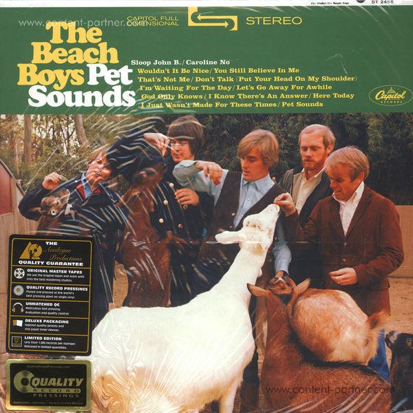 The Beach Boys - Pet Sounds (Stereo 180g Vinyl Reissue)