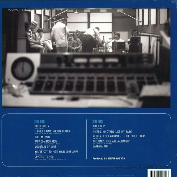The Beach Boys - The Beach Boys' Party! Uncovered And Unplugged (Back)