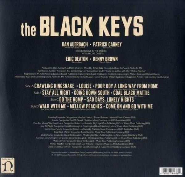 The Black Keys - Delta Kream (2LP) (Back)