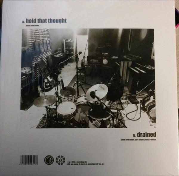 "The Brian Jonestown Massacre - Hold That Thought (Ltd. White Vinyl 10"") (Back)"