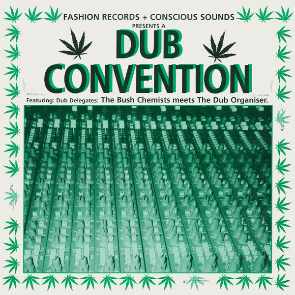 The Bush Chemists meets The Dub Organiser - Dub Convention (Remastered Reissue LP)