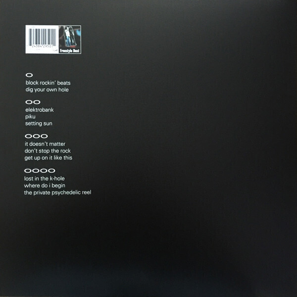 The Chemical Brothers - Dig Your Own Hole (2LP) (Back)