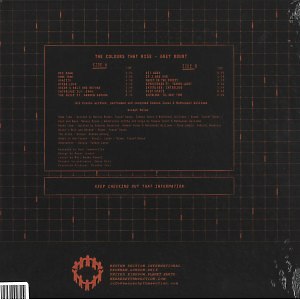 The Colours That Rise - Grey Doubt (Back)