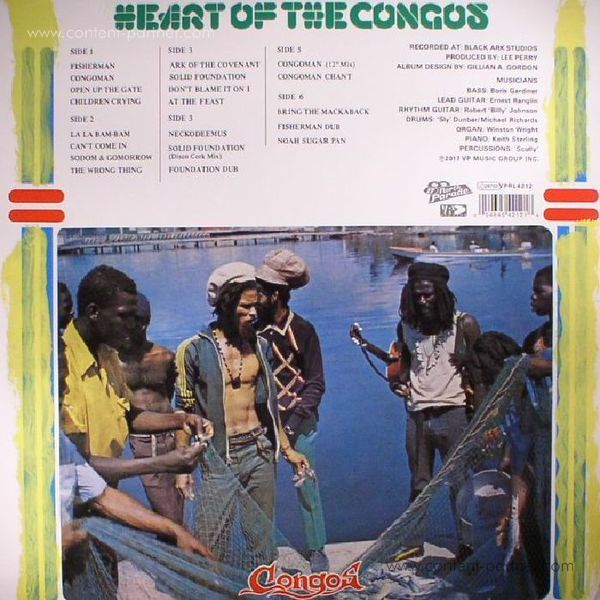 The Congos - Heart Of The Congos (40th Anniversary 3LP Edition) (Back)