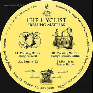 The Cyclist - Pressing Matters