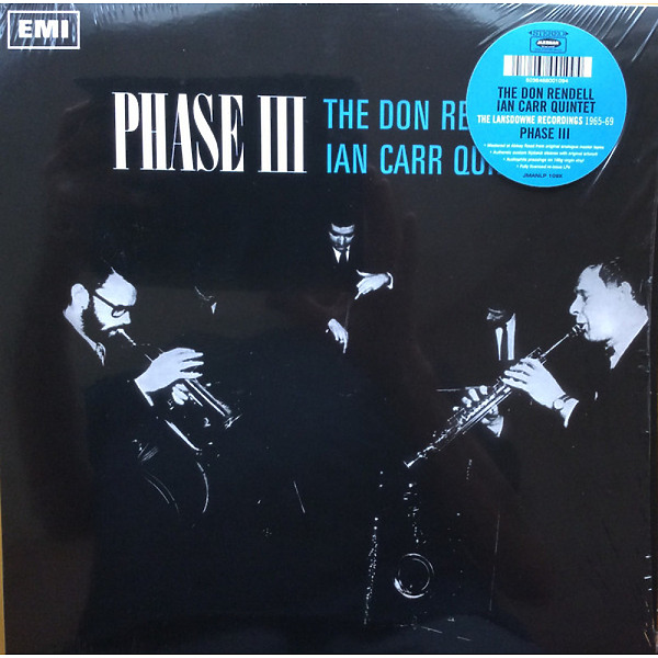 The Don Rendell / Ian Carr Quintet - Phase III (LP) (Back)