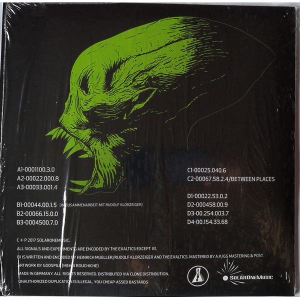 The Exaltics Feat. Rudolf Klorzeiger - Das Heise Experiment 2 - The Prequel (2x10'') (Back)