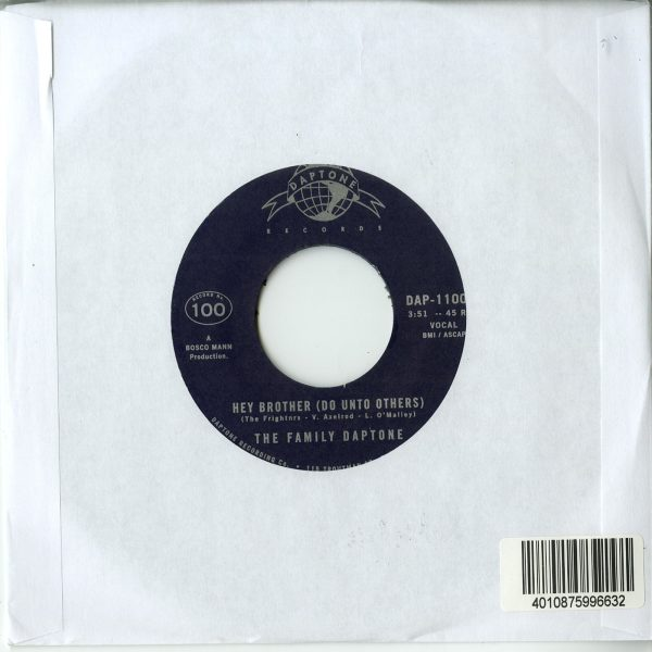 The Family Daptone / The 100 Knights Orchestra - Hey Brother (Do Unto Others) / Soul Fugue (Back)