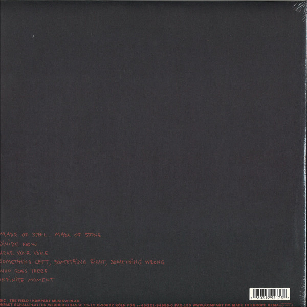 The Field - Infinite Moment (2LP + DL) (Back)