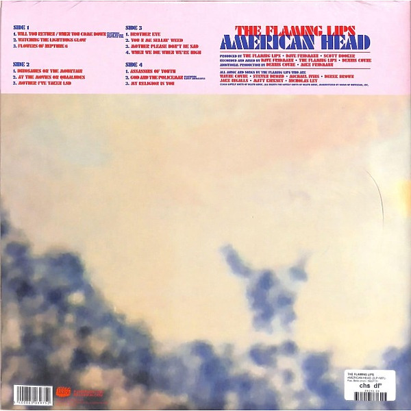 The Flaming Lips - American Head (Back)