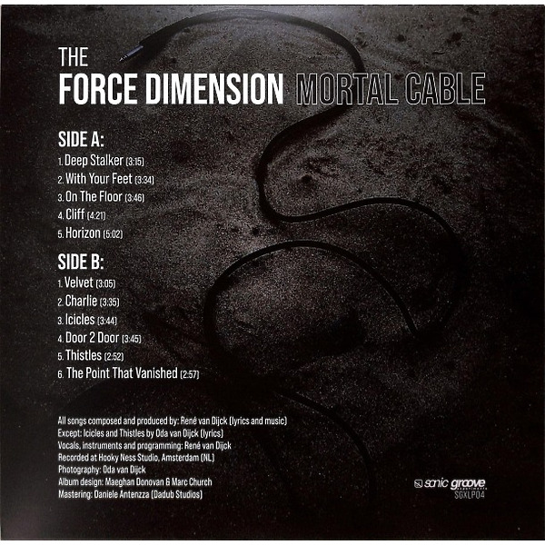The Force Dimension - Mortal Cable (Back)