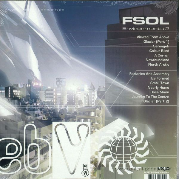 The Future Sound Of London - Environment Two (Back)