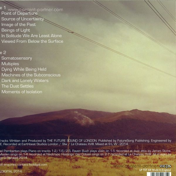 The Future Sound Of London - Environments Vol. 5 (Back)
