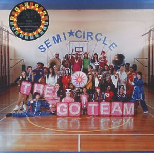 The Go! Team - Semicircle (Ltd. Neon Pink Vinyl)