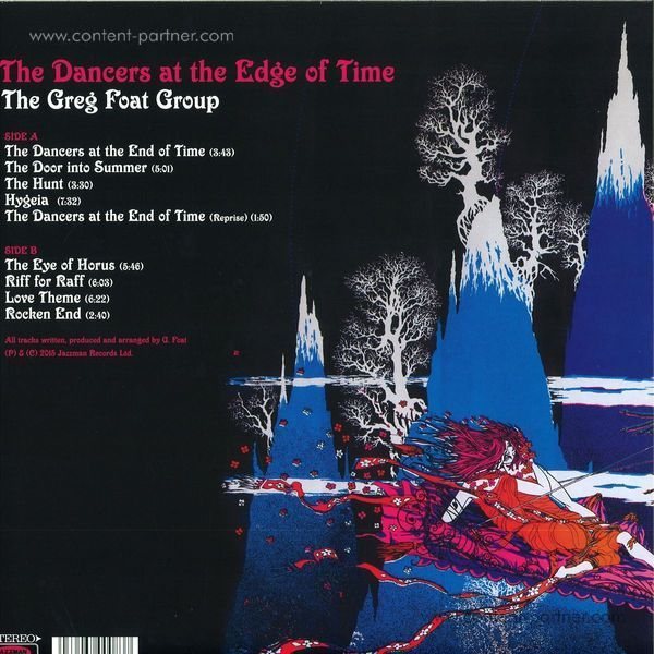 The Greg Foat Group - The Dancers At The Edge Of Time (Back)