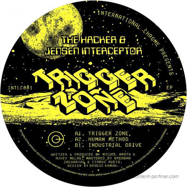 The Hacker & Jensen Interceptor - Trigger Zone EP (Back)