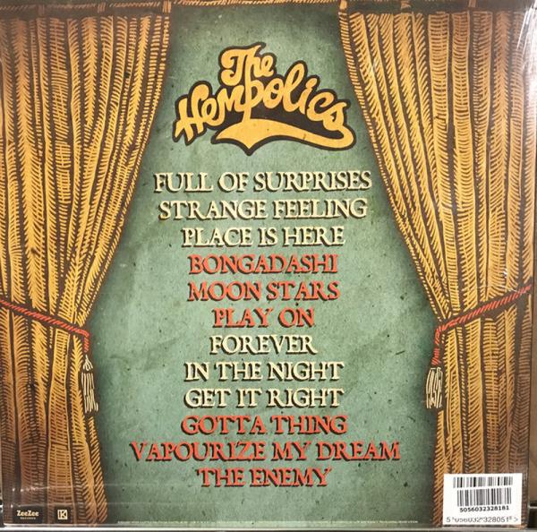 The Hempolics - Kiss, Cuddle & Torture: Vol.2 (2LP) (Back)