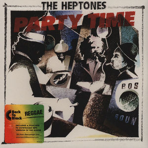 The Heptones - Party Time (Back To Black Vinyl)