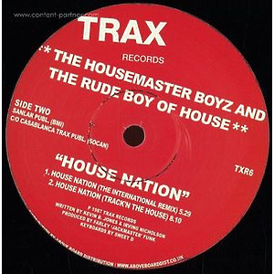 The Housemaster Boyz And The Rude Boy Of - House Nation