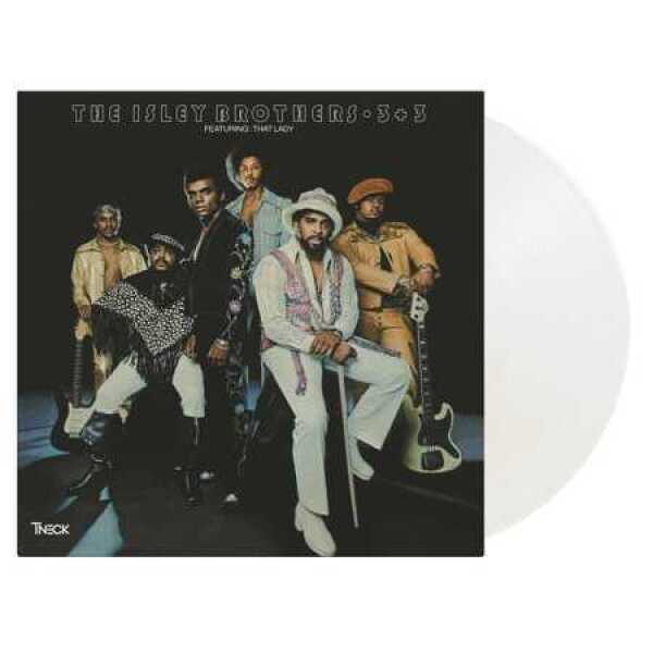 The Isley Brothers - 3 + 3 (Ltd. Crystal Clear 2LP reissue)