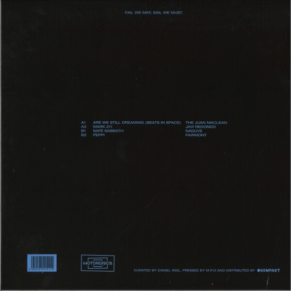The Juan MacLean / Javi Redondo / Naduve / Fairmon - Motordisc 3 (Back)