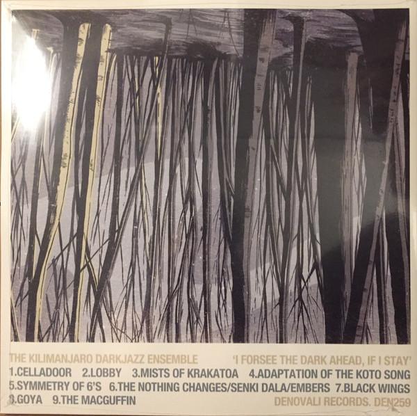 The Kilimanjaro Darkjazz Ensemble - I Forsee the Dark Ahead, If I Stay (Black Vinyl) (Back)
