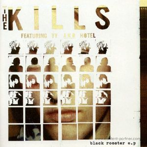 The Kills - Black Rooster EP (10inch red vinyl +MP3)