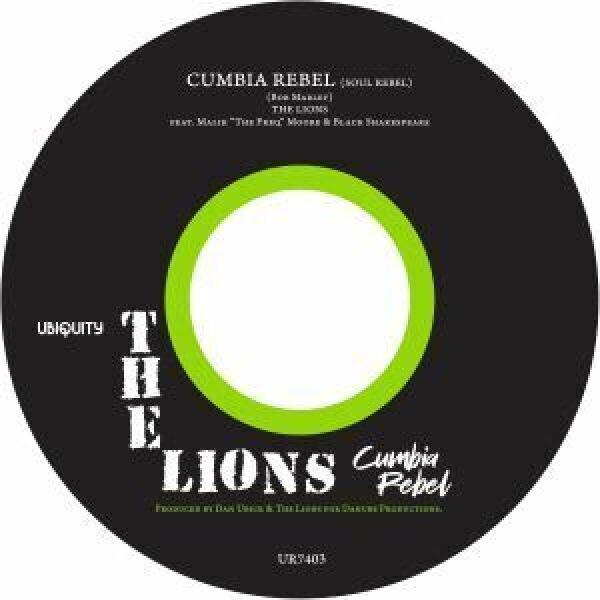 "The Lions - Cumbia Rebel (7"" Vinyl)"