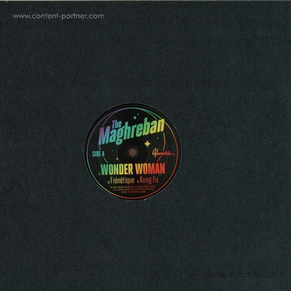 The Maghreban - Wonder Woman EP (Back)