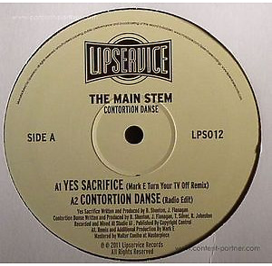 The Main Stem - Consortium Danse (inc Mark E rmx)