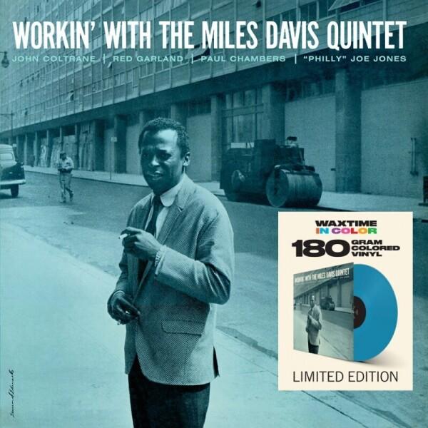 The Miles Davis Quintet - Workin' (Coloured Vinyl LP)