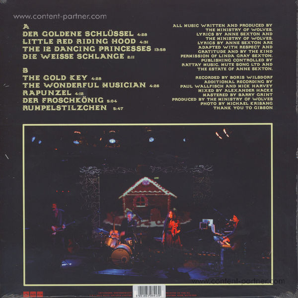 The Ministry Of Wolves - Happily Ever After (LTD LP+MP3) (Back)