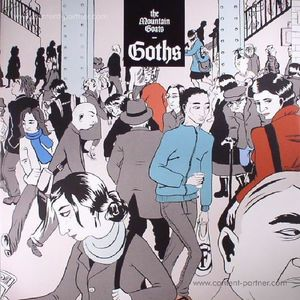 The Mountain Goats - Goths (2LP Gatefold+MP3)