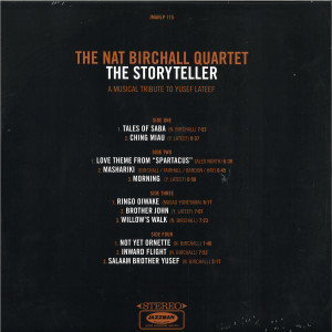 The Nat Birchall Quartet - The Storyteller- A Musical Tribute To Yusef Lateef (Back)