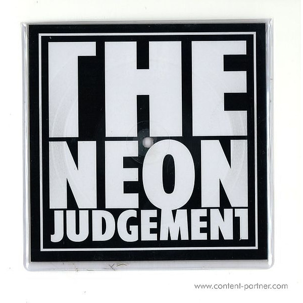 The Neon Judgement - Tv Treated (Dave Clarke Rmx, Square Picture Disc)