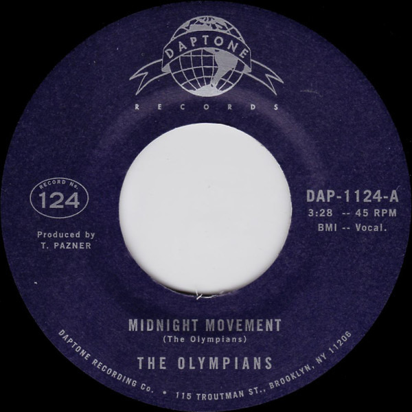 "The Olympians - Midnight Movement / Stand Tall (7"")"