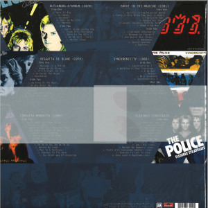 The Police - Every Move You Make: The Studio Recordings (Box) (Back)