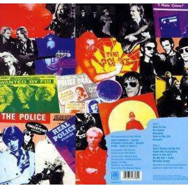 The Police - Outlnados D'Amour (180g Reissue) (Back)