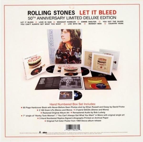 The Rolling Stones - Let It Bleed (Ltd.50th Anniv. 5LP Box Set) (Back)