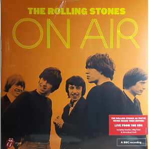 The Rolling Stones - On Air (2LP) (Back)