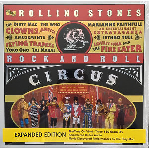 The Rolling Stones - Rock and Roll Circus (Exp. Audio Edition 3LP) (Back)