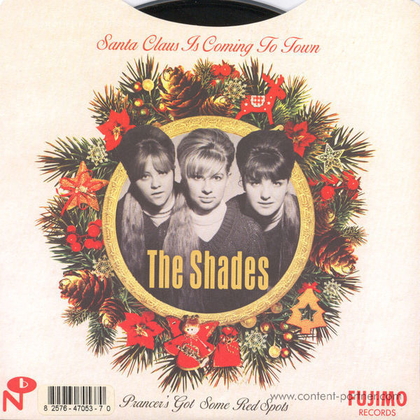 The Shades - Santa Claus Is Coming To Town / Prancer' (Back)