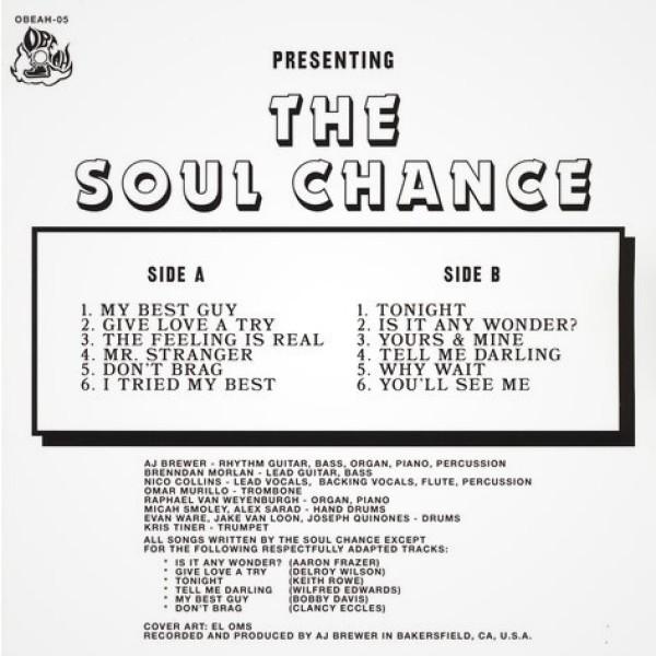 The Soul Chance - The Soul Chance (LP) (Back)