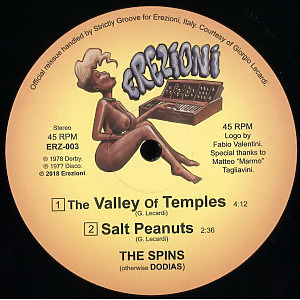The Spins - The Valley Of Temples